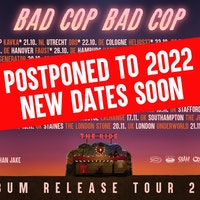 BAD COP BAD COP / WONK UNIT (CO-HEADLINE) – POSTPONED