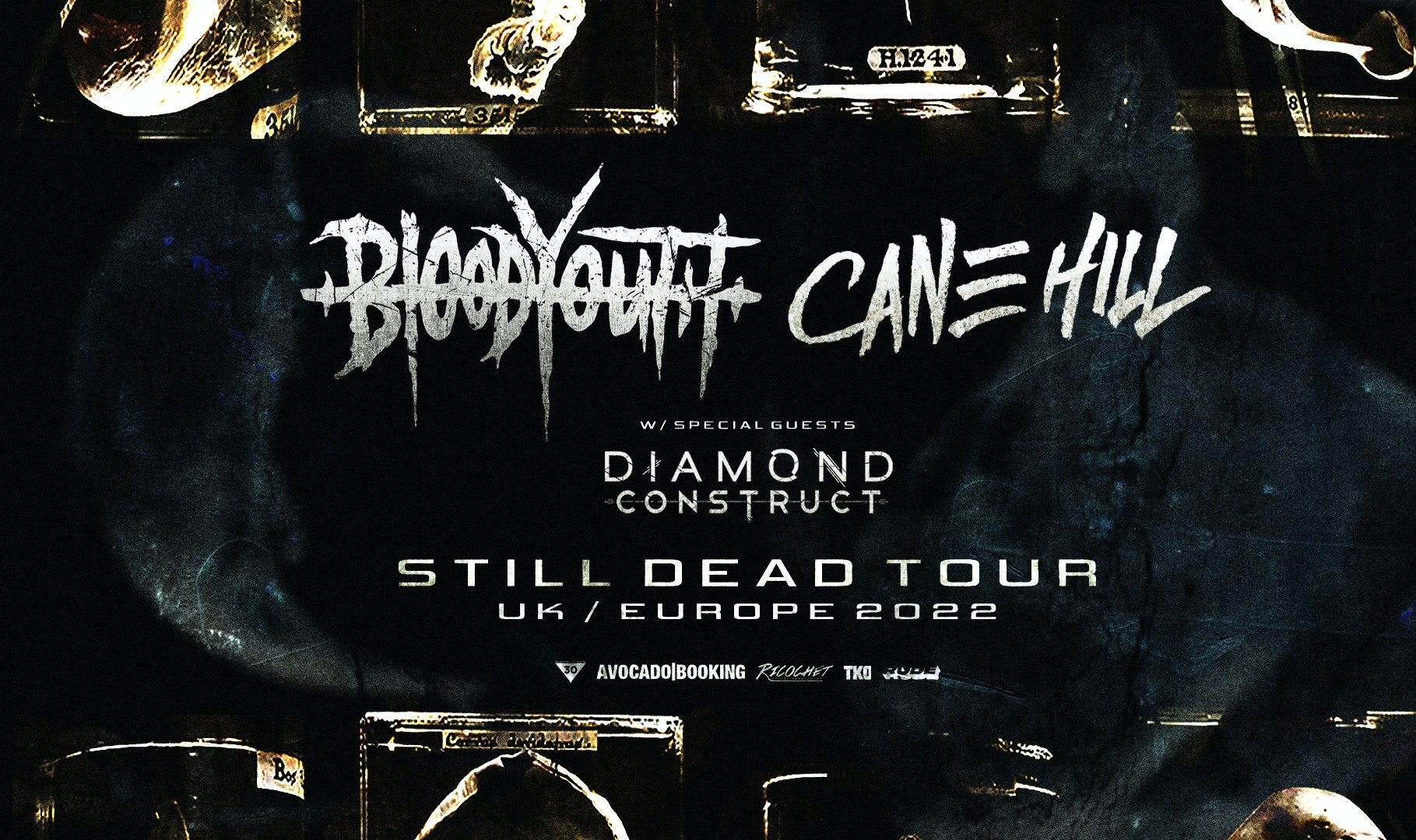 BLOOD YOUTH – CANE HILL (DOUBLE-HEADER)